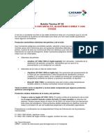 CIPET - Boletin Técnico Nº 39 - Emergencias Con Asfalto - Alquitran - Coque