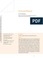 HOLTZMAN, J. Food and Memory