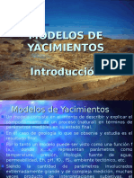 Modelos de Depositos Minerales