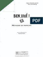 Manual Bien Joue 1