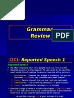 i2ci Grammar 9 Reported Speech