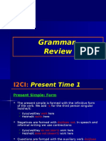 I2CI Grammar Present Time 1 and 2