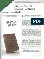 La enseñanza de la logica en el sistema educativo bolivariano - Juan Antonio RodriguezBarroso