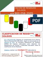 15. Segregacion de Residuos Solidos 2011-Mineria