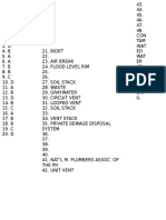 05152016 Plumbing Code Exam 01