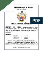 Carátula Jr. Aija y Gabino Uribe