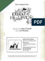 Ernest in Love - PC Score