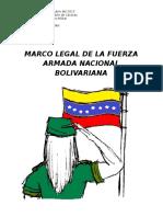 MARCO LEGAL DE LA FUERZA ARMADA NACIONAL BOLIVARIANA.docx