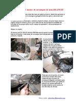 Reparación de Motor de Arranque de Una SR 250 SP