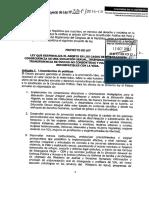 PL N° 387 - Despenalización del Aborto Por Violación