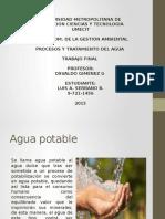Presentación de Agua Potable