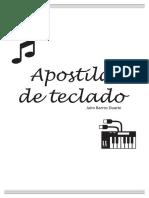 Apostila de Teclado - acordes escalas básicas - Jairo
