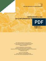 FAO interpretacion y uso de informacion de ercados.pdf