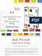 Small Great Things Book Club Kit