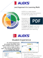 ALEKS - Research Based Approach to Learning Math