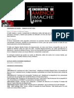 Seminario Flamenco Limache 2016