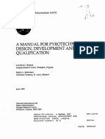 A Manual for Pyrotechnic Design Development and Qualification