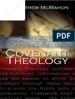 A Simple Overview of Covenant Theology TOC