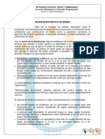 Lect1 El Modelo Burocratico