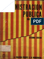 Ira Sharkansky- Administracion Publica