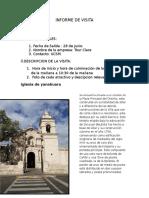 Informe de Visita Campiña