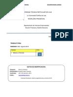 Cuestionario Para El Estudio Examen Bimestral Operaciones Bancarias