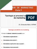 Studenti - Curs 2 - Cercetări de Marketing