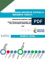 TRANSITORIEDAD D2278 - D1500