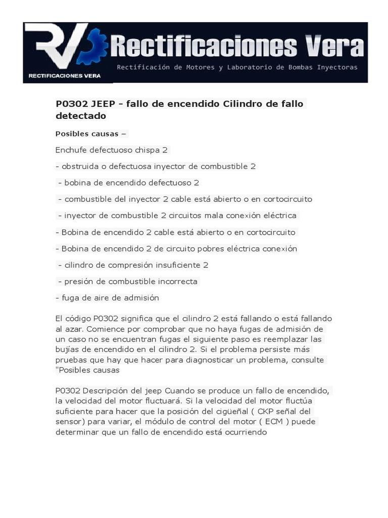 Codigo p0302