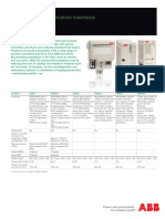S800 I O Communication Interfaces Data Sheet