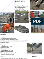 Cement Concrete - Unit-II (1)
