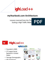 Highload++ - myYearbook.com Architecture