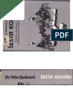 Milo Bošković - Šesta kolona