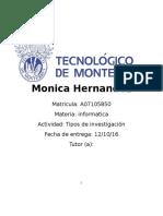 281803333 MII U3 Actividad 1 Tipos de Investigacion