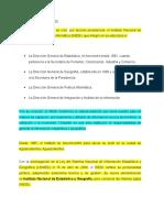 Historia Del INEGI