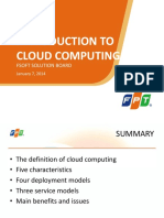 Lecture 1.2 Introduction to Cloud Computing