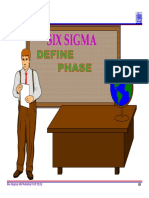 2.0 Six Sigma Define