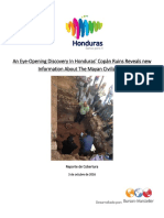 Descubrimiento en Copán Ruinas
