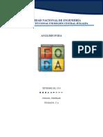 Analisis FODA Ing. Agroindustrial