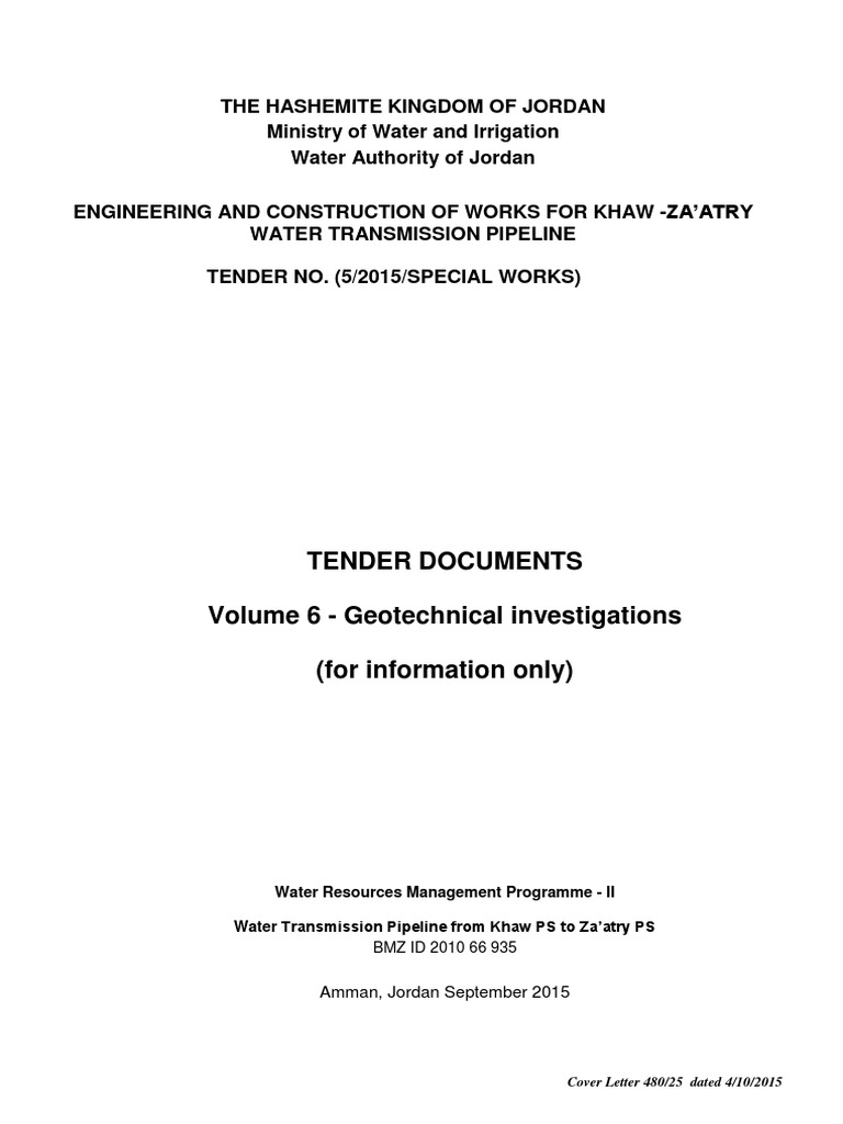 Geotechnical Survey Report Final   Geotechnical Engineering ...