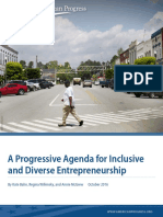 A Progressive Agenda for Inclusive and Diverse Entrepreneurship