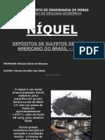 UFOP - Seminário sobre Níquel - Americano do Brasil - GO