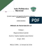 Factorizacion LU