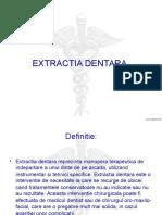 Extractia dentara