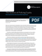 Austin PD Science of Policing Equity Report