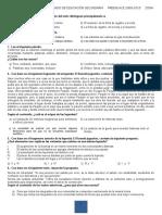 Examen Español Primer Grado-martin