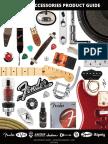 2014 Fender Accessories Pricelist
