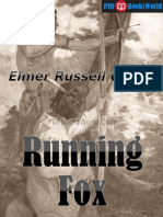 Running Fox, By Elmer Russell Gregor