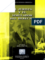 El Jurista y El Simulador de Derecho