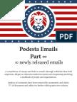 Podesta Emails Roundup